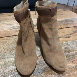 Sole Society Suede ankle boots